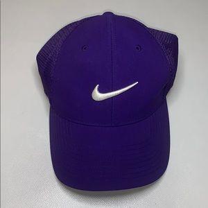 NWOT Purple Nike Flexfit Cap